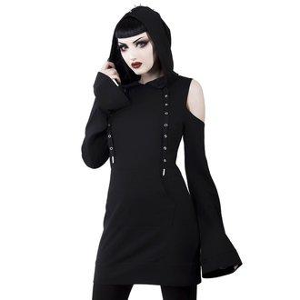 šaty dámské KILLSTAR - Iza Jersey - BLACK, KILLSTAR