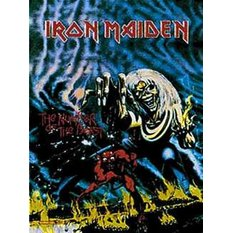 vlajka Iron Maiden - Number Of The Beast