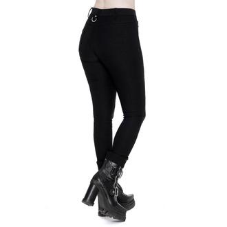 kalhoty dámské KILLSTAR - Jessie - BLACK - KSRA001736