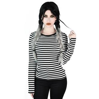 tričko dámské s dlouhým rukávem KILLSTAR - Jett - WHITE - KSRA002887