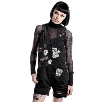 kraťasy dámské KILLSTAR - Jinx Cursed Cutie - Black, KILLSTAR
