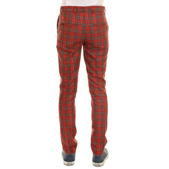 kalhoty pánské 3RDAND56th - 60'S MOD TARTAN SLIM FIT TRS, 3RDAND56th