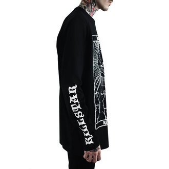 tričko pánské s dlouhým rukávem KILLSTAR - Judgement - BLACK, KILLSTAR
