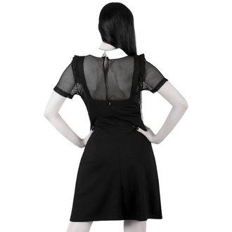 šaty dámské KILLSTAR - Juju Pinafore - Black, KILLSTAR