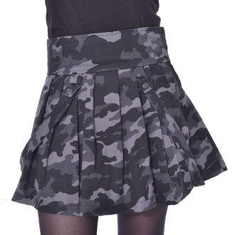 sukně dámská HEARTLESS - JANICE SKIRT - GREEN CAMO, HEARTLESS