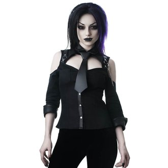 košile dámská KILLSTAR - Kalista Teachers Pet - BLACK, KILLSTAR