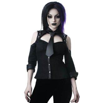 košile dámská KILLSTAR - Kalista Teachers Pet - BLACK - KSRA000387