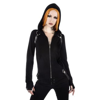 mikina dámská KILLSTAR - Killafornia Knit - Black, KILLSTAR