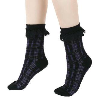 ponožky KILLSTAR - Killmore - TARTAN, KILLSTAR