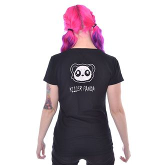tričko dámské KILLER PANDA - KILLER UNICORNS - BLACK, KILLER PANDA