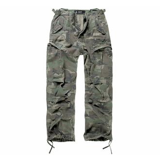 kalhoty pánské BRANDIT - M65 Vintage Trouser Woodland - 1001/10