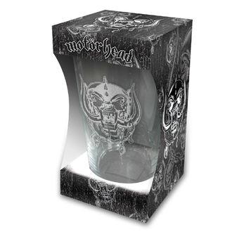 sklenice Motörhead - Warpig Etched Print - RAZAMATAZ, RAZAMATAZ, Motörhead