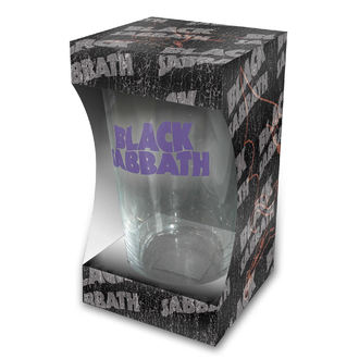 sklenice Black Sabbath - Purple Logo - RAZAMATAZ, RAZAMATAZ, Black Sabbath