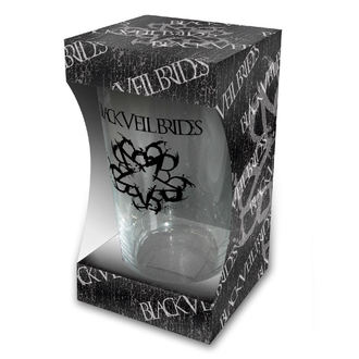 sklenice Black Veil Brides - Logo - RAZAMATAZ, RAZAMATAZ, Black Veil Brides