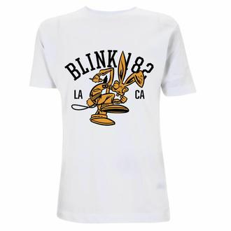 tričko pánské Blink 182 - College Mascot - White, NNM, Blink 182
