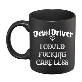hrnek Devildriver - Care Less - Matte Black, NNM, Devildriver
