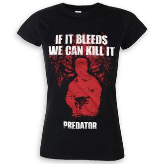 tričko dámské Predator - If It Bleeds - Black - HYBRIS, HYBRIS