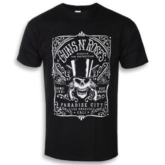 tričko pánské Guns N' Roses - Bourbon - ROCK OFF, ROCK OFF, Guns N' Roses