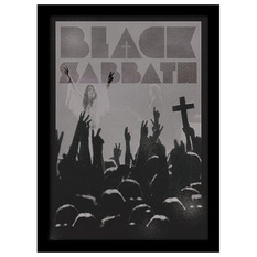 obraz Black Sabbath - Cross - PYRAMID POSTERS, PYRAMID POSTERS, Black Sabbath