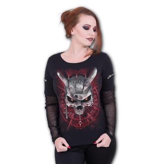 tričko dámské s dlouhým rukávem SPIRAL - NEVER TOO LOUD, SPIRAL