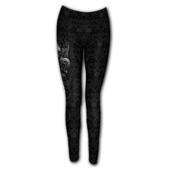 kalhoty dámské (legíny) SPIRAL - SKULL SCROLL - D089G456