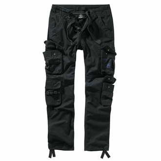 kalhoty pánské BRANDIT - Pure slim fit - 1016-black - POŠKOZENÉ - BH122