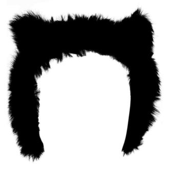 klapky na uši KILLSTAR - Le Chat Noir Ear Muffs - Black