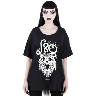 tričko dámské KILLSTAR - Leo - BLACK, KILLSTAR