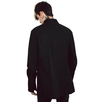 košile pánská KILLSTAR - Lestat Ruffle, KILLSTAR