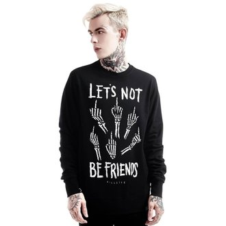 mikina (unisex) KILLSTAR - Let's Not - Black, KILLSTAR