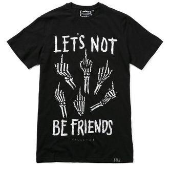 tričko (unisex) KILLSTAR - Let's Not - Black, KILLSTAR