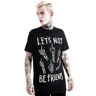 tričko (unisex) KILLSTAR - Let's Not - Black, KILLSTAR