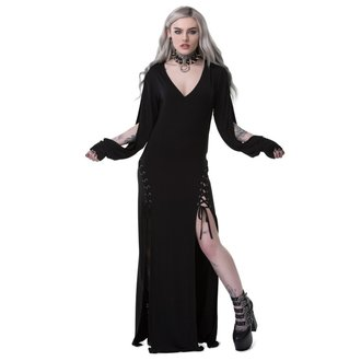 šaty dámské KILLSTAR - LIBRA RISING - BLACK, KILLSTAR