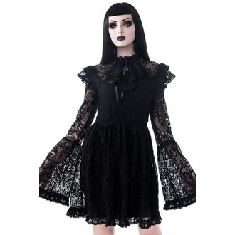 šaty dámské KILLSTAR - Liliana - BLACK, KILLSTAR
