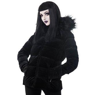 bunda zimní dámská  KILLSTAR - Lisa Luna - BLACK