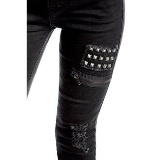 kalhoty dámské KILLSTAR - Lithium - Black