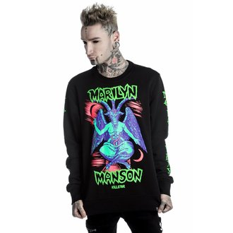 mikina unisex KILLSTAR - MARILYN MANSON - When I'm God - Black - K-SWS-U-2499
