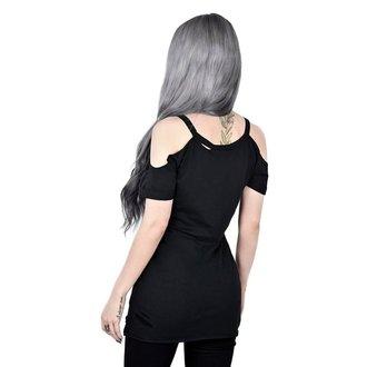 tričko dámské KILLSTAR - LIT DISTRESSED - BLACK, KILLSTAR