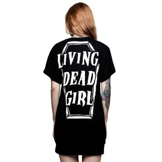 tričko dámské (top) KILLSTAR - ROB ZOMBIE - Living Dead Girl - BLACK, KILLSTAR, Rob Zombie
