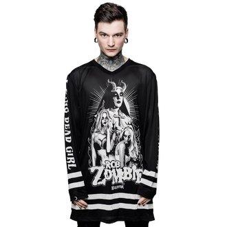 tričko pánské s dlouhým rukávem (dres) KILLSTAR - ROB ZOMBIE - Living Dead Girl, KILLSTAR, Rob Zombie