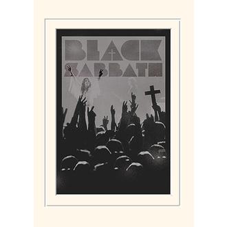 obraz Black Sabbath - (Cross) - PYRAMID POSTERS, PYRAMID POSTERS, Black Sabbath