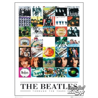plakát - The Beatles - Through the Years - LP0594 - GB posters