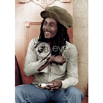 plakát - BOB MARLEY rolling 2 - GB posters - LP0800