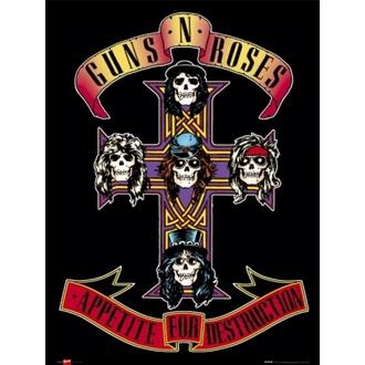 plakát - Guns N' Roses - Appetite - GB posters, GB posters, Guns N' Roses