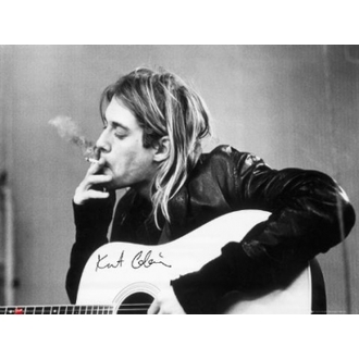 plakát - Nirvana - Kurt Cobain - Smoking - GB posters - LP1151