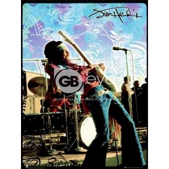 plakát - JIMI HENDRIX live - LP1270, GB posters, Jimi Hendrix