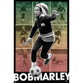 plakát Bob Marley - Football S.O.S - GB Posters, GB posters, Bob Marley