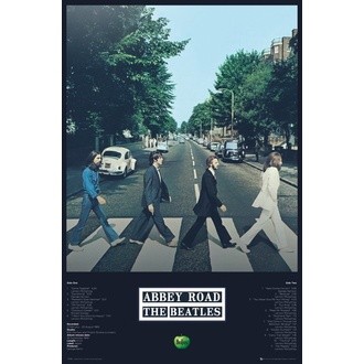plakát THE BEATLES - ABBEY ROAD TRACKS - GB posters, GB posters, Beatles