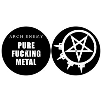 podložka na gramofon (set 2ks) ARCH ENEMY - PURE FUCKING METAL - RAZAMATAZ, RAZAMATAZ, Arch Enemy
