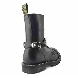 postroj na botu Leather boot strap whith rivets - bubble 3, Leather & Steel Fashion